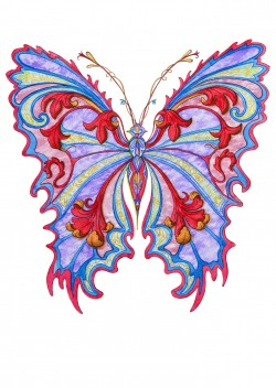 Baroque Butterfly
